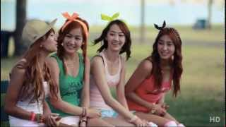 "SISTAR ""Loving U"" MV Making"